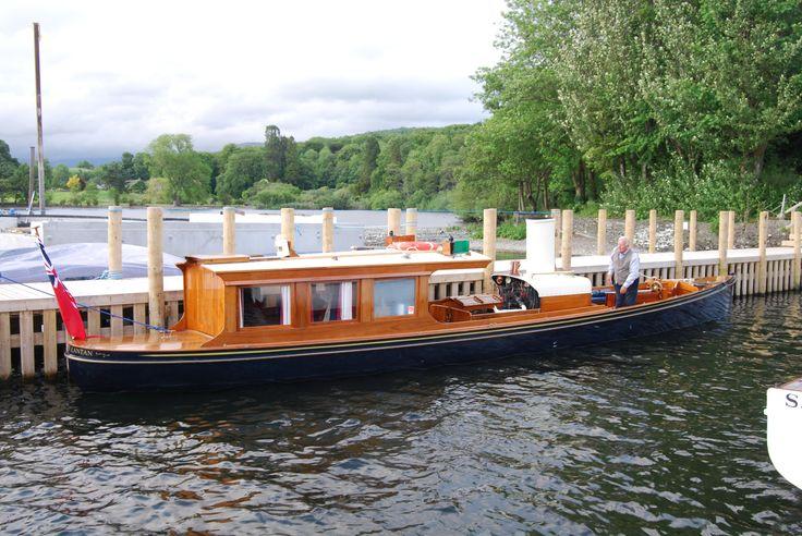 Steam Boat Association Windermere Steam Launch