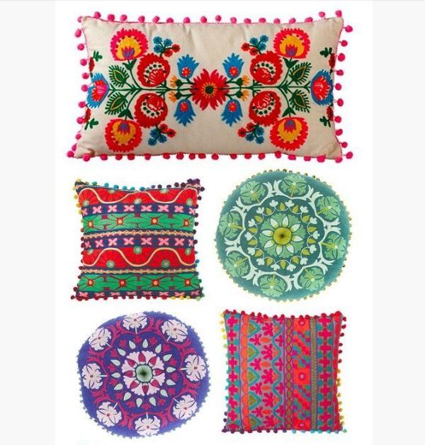 Bohemian Chic Pillows