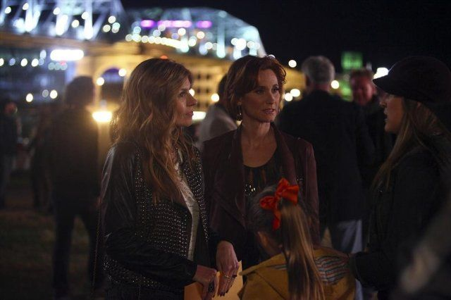 Still of Connie Britton, Judith Hoag, Lennon Stella and Maisy Stella in Nashville (2012)