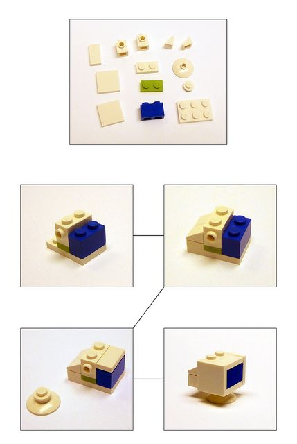 How to build a CRT monitor in LEGO