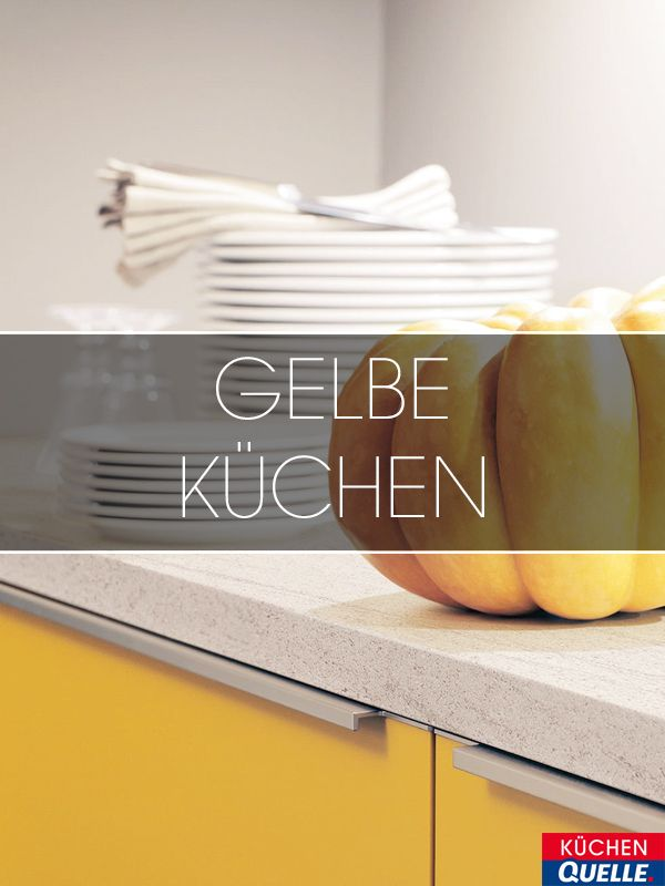 9 best Gelbe Küchen images on Pinterest Yellow kitchens - küche rot hochglanz