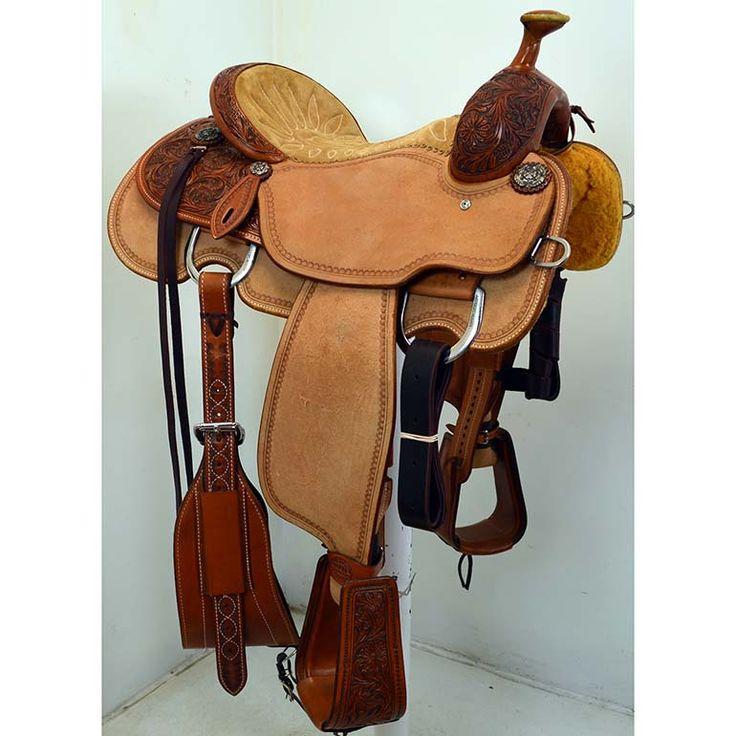 New 14 Quot Martin Saddlery Team Roping Saddle Saddle Up
