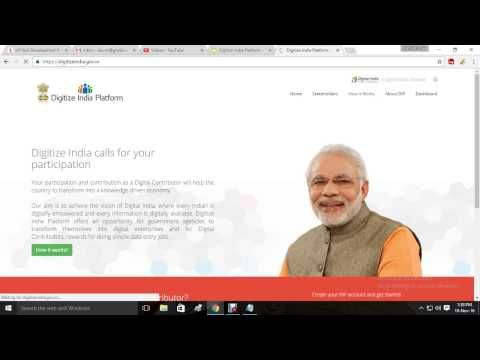 Digitize India Platform - Online work from Home & get Paid directly to account -  http://www.wahmmo.com/digitize-india-platform-online-work-from-home-get-paid-directly-to-account/ -  - WAHMMO