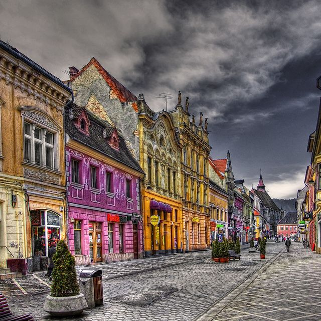 Old Town, Brasov,  Romania