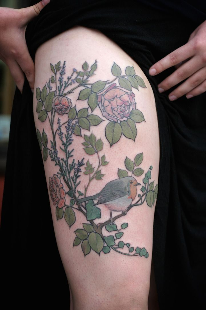 17 best images about skin on pinterest david hale for Botanical tattoo london