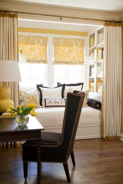 Reading Alcove off of Guest Bedroom - If the space is large enough for a twin mattress, you have an additional bed...