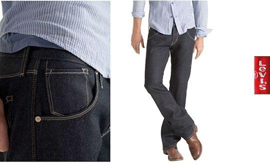 Selectism – Levis 507 Slim Boot Jeans return for Men