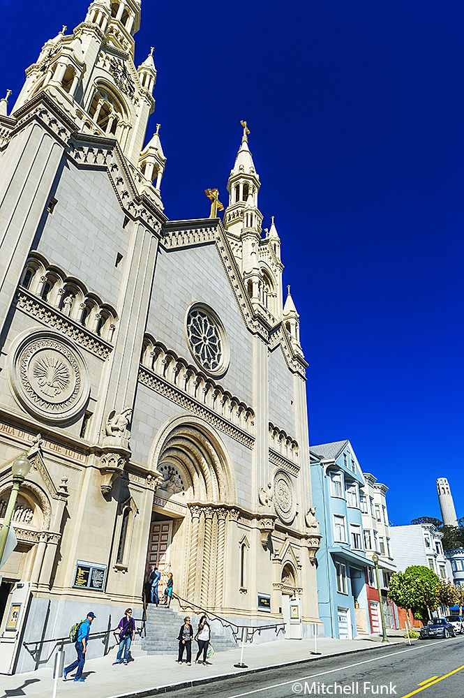 St. Peter And Paul Church In North Beach, San Francisco www.mitchellfunk.com