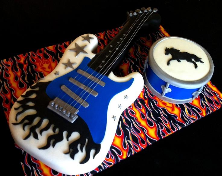 Sheet Silver Drum Cake