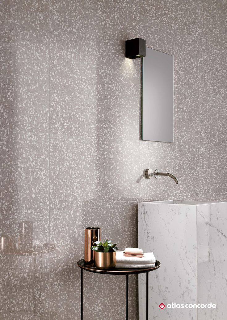 A collection of ceramic tiles to combine the look of venetian terrazzo with the superb quality