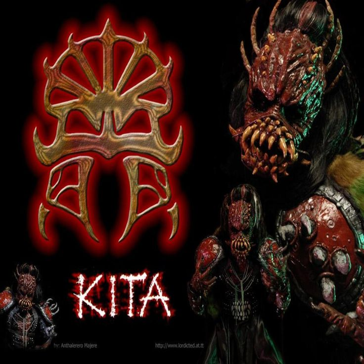 Kita from Lordi. So sad he's not a member of the band anymore. His costume was absolutely awesome. I really miss this guy...