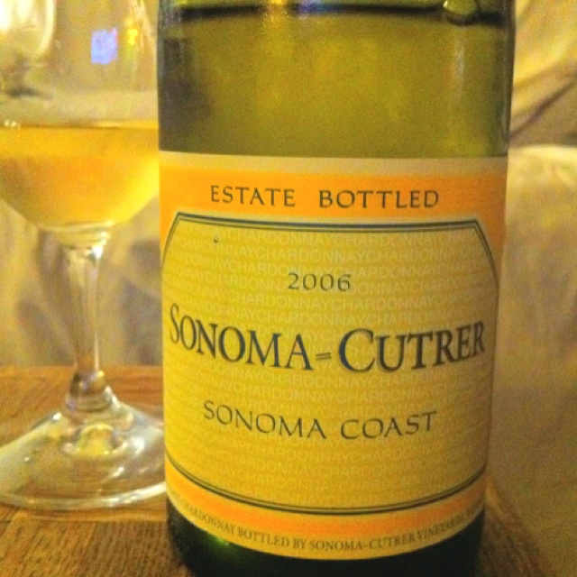 Sonoma-Cutrer! A Favorite Chardonnay that is a hit with 95% of the woman I know! Def a springtime date wine!
