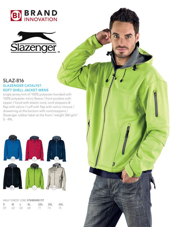 Slazenger Soft Shell Jacket for Men. #jacket #slazenger
