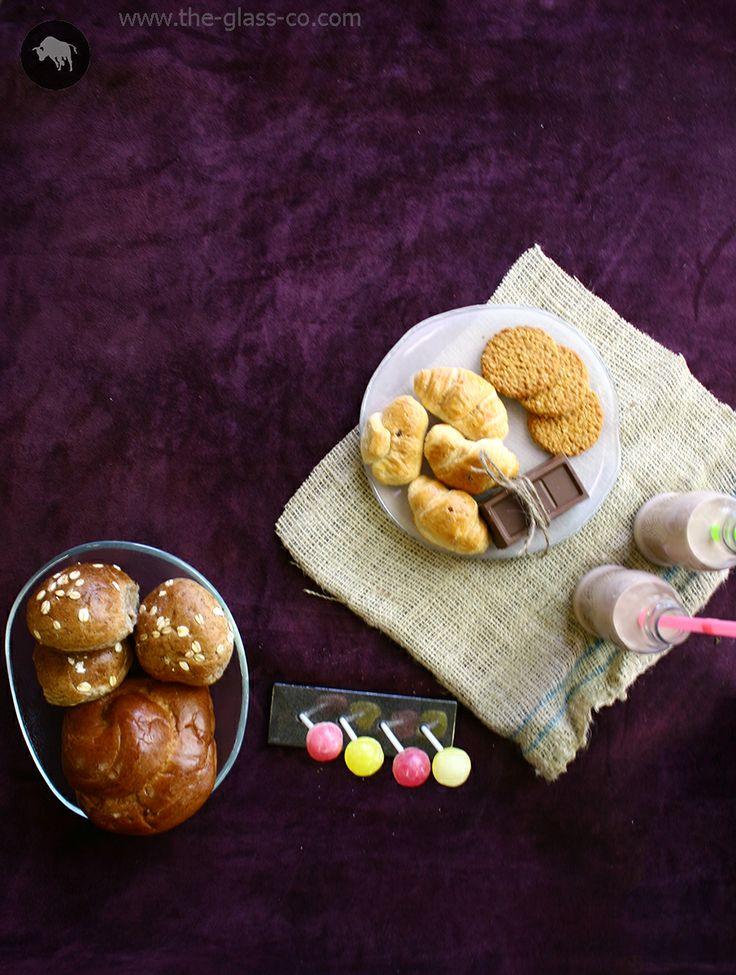 Breakfast setup by Glass Studio www.the-glass-co.com