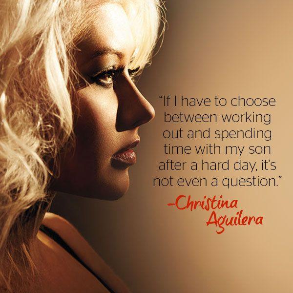 Read Christina Aguilera's November cover story now
