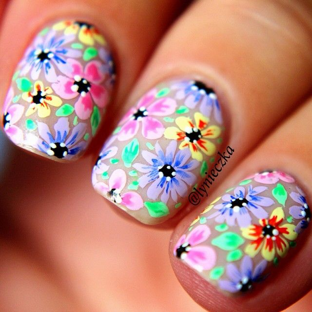 Instagram media by lynieczka #nail #nails #nailart