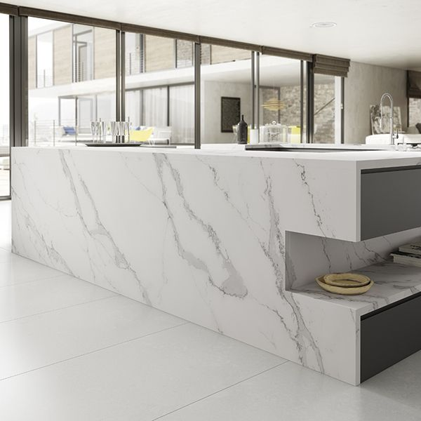 Calacatta Marble Kitchen: 38 Best Images About Calacatta Quartz Kitchen On Pinterest