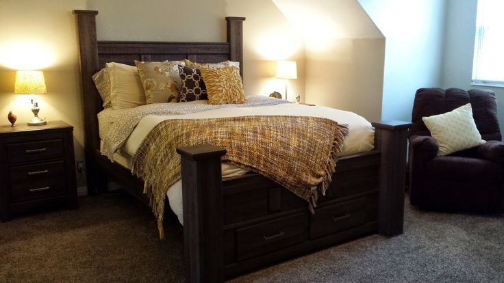 Fun Ideas To Share Master Bedroom Makeover Edgecomb Gray Benjamin Moore On Walls For The