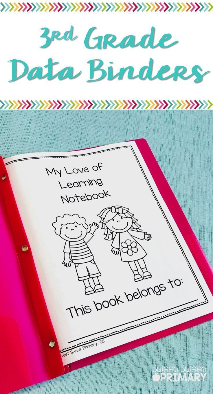 Help your 3rd graders take ownership of their learning with a reading and math data binder. Your students can make goals and track their progress in fluency, reading levels, writing skills, and math standards.