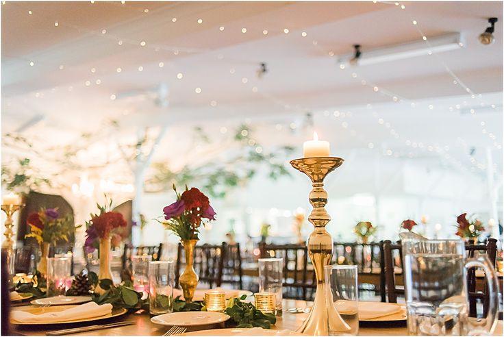 Mudgeeraba Hall Wedding Decorations Gold Table Settings
