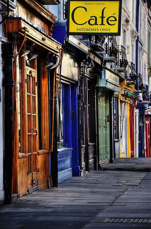 Notting Hill - London. More of the best of London tips: http://www.europealacarte.co.uk/blog/2013/08/09/london-tips/