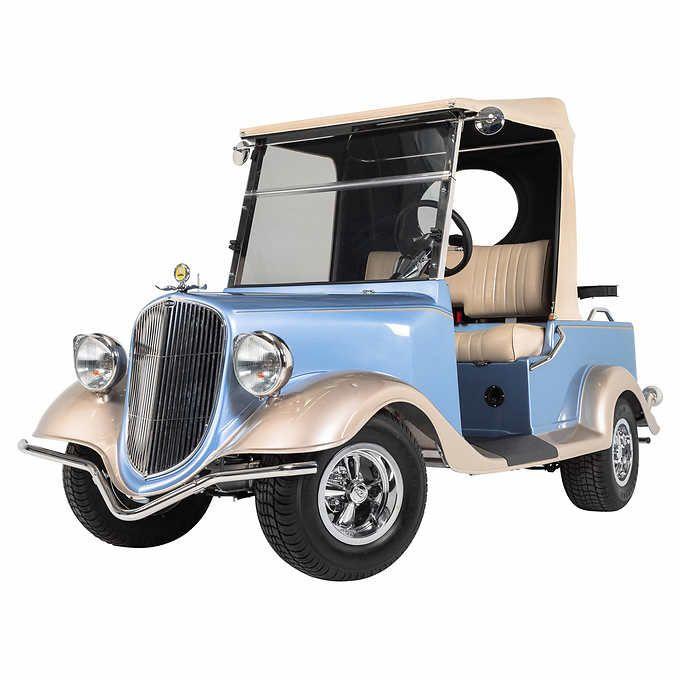 Streetrod Vintage Convertible 2-4 Passenger Electric Golf