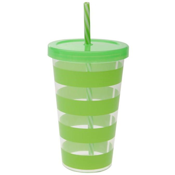 Stanford Home | Stanford Home Plastic Straw Tumbler | Mega Value Homeware
