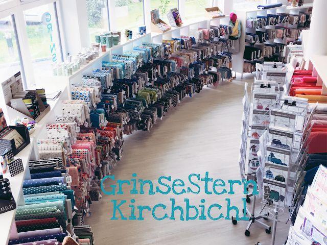 GrinseSternKirchbichl, Stoffladen, Stoffparadies