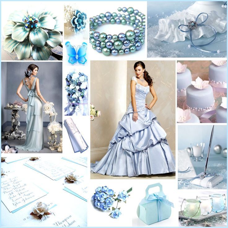 Perfect Ice Blue Inspiration Board For Winter Weddings Kelly Wants This Ice Blue  Colour For The Wedding .