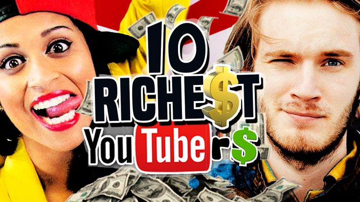 10 Highest Paid YouTubers ► 2017 Update