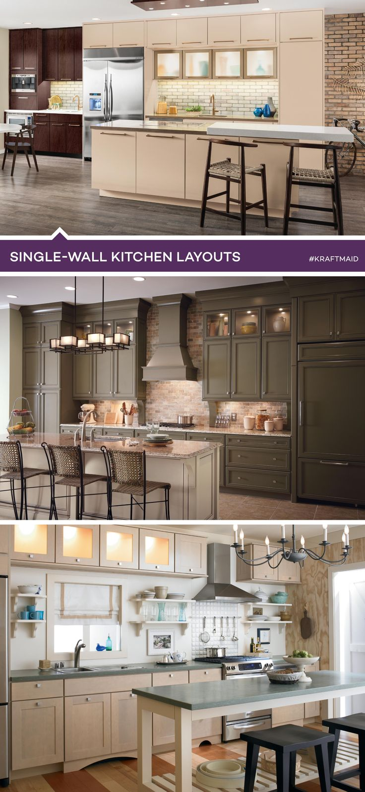 8 best most popular kitchen layouts images on pinterest