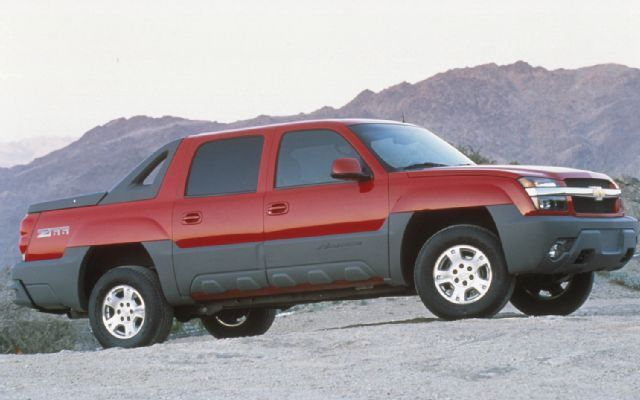 2002 Chevrolet Avalanche Side Todoterreno, Autos