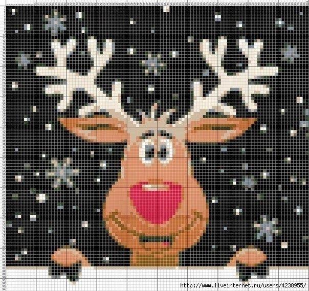 Мобильный LiveInternet Красивый свитер с оленями!!! | Ко66ка - Дневник Ко66ка |