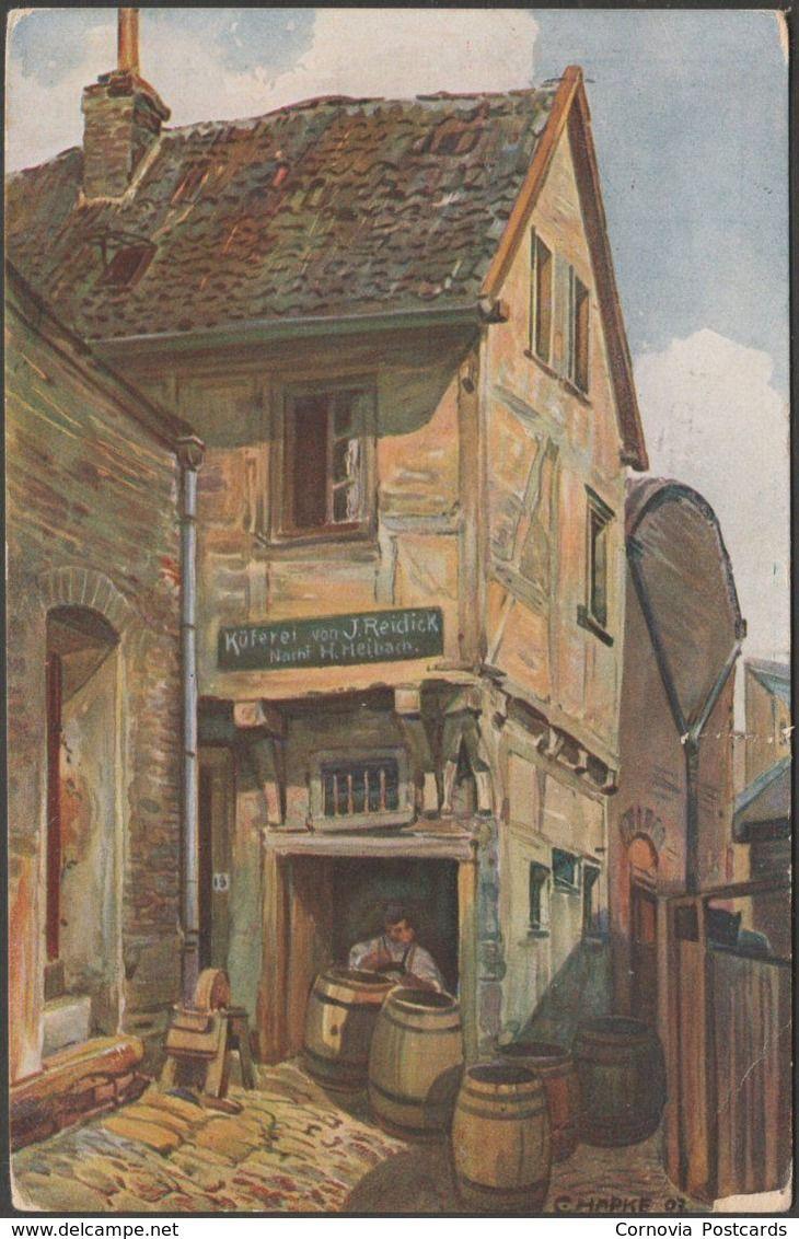 Künstler In Essen künstler hapke malerische winkel aus dem alten essen 1921 weber