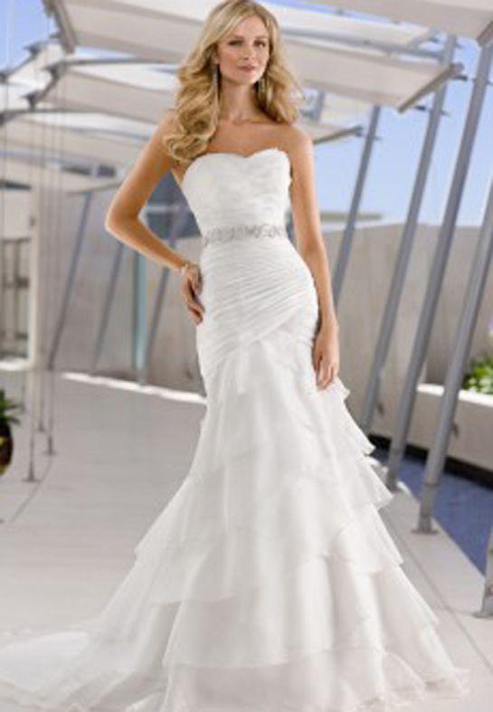 tool wedding dresses | 13 Slinky Mermaid Wedding Dress Silhouettes