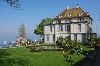 Schlossansicht - Napoleonmuseum Salenstein Thurgau