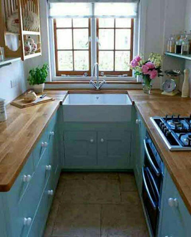 Barnes Of Ashburton, Reduced Depth Worktops, Magic Corner, Compact Kitchen  Design, Small Kitchen Design Inspiration Part 68