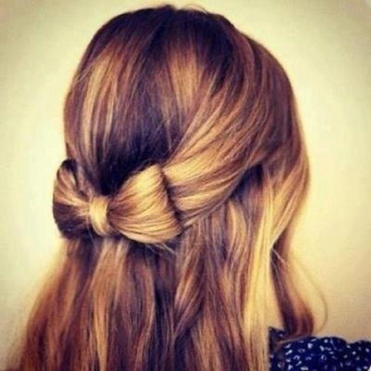 Strange 1000 Ideas About Bow Hairstyles On Pinterest Hair Bow Short Hairstyles Gunalazisus