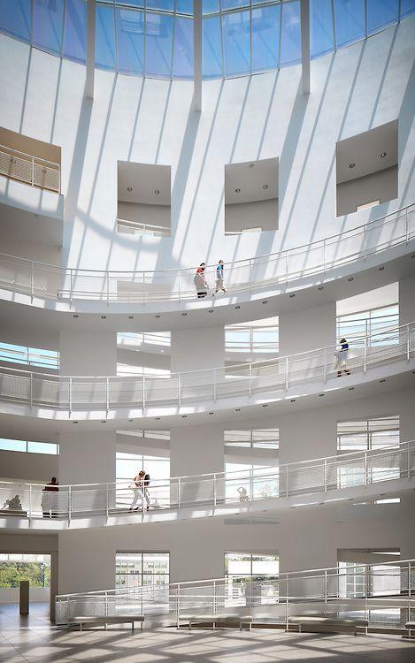 High Museum of Art | Atlanta, Georgia | Richard Meier | Photo © John Muggenborg