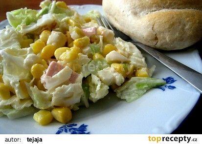 Salát z pekingského zelí recept - TopRecepty.cz