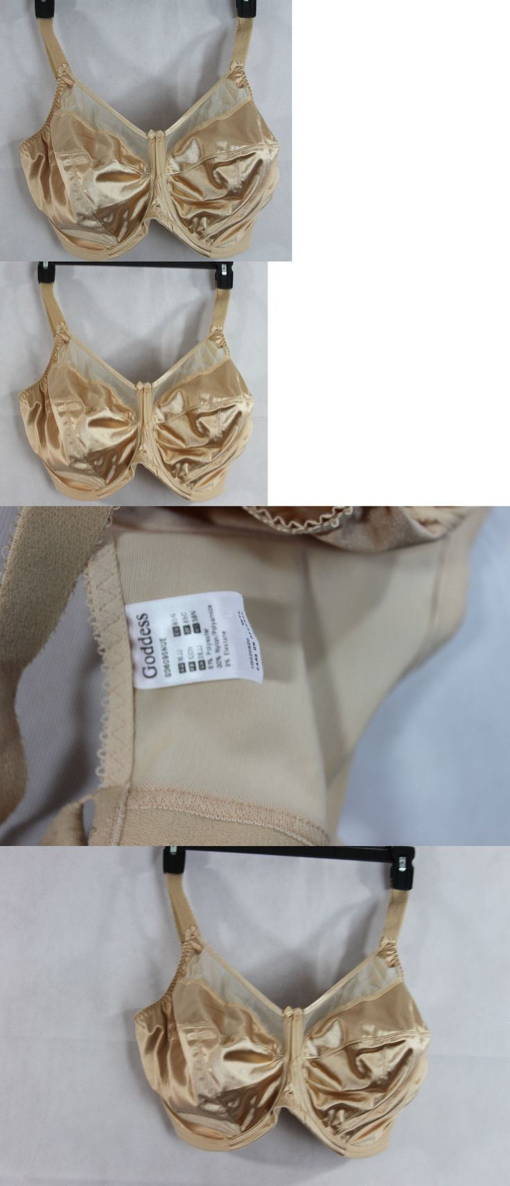 Bras and Bra Sets 63853: New Goddess Lingerie Keira Banded Underwire Full Cup Bra Nude Size 38N -> BUY IT NOW ONLY: $31.99 on eBay!