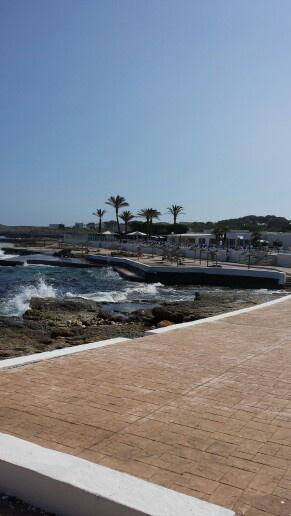 S'Algar Menorca the start of the coastline walk to Alcafar