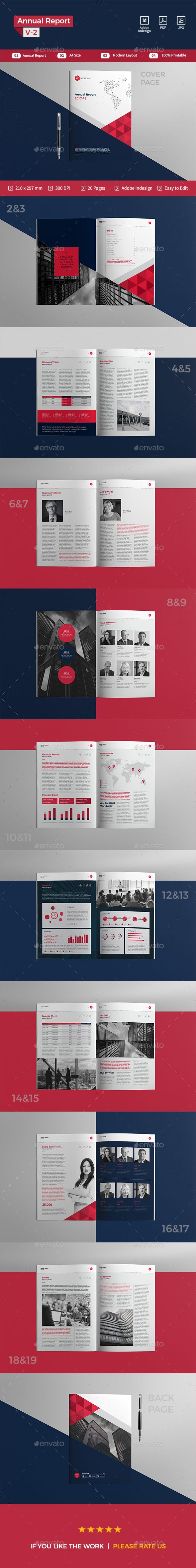 Annual Report — InDesign INDD #clean #agency • Download ➝ https://graphicriver.net/item/annual-report/19502634?ref=pxcr