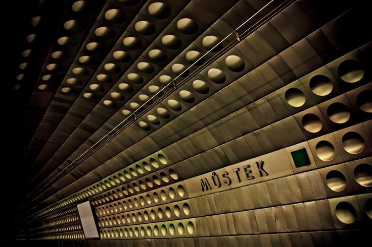 Metro Station Prague