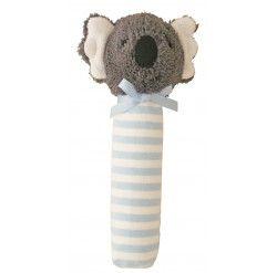 Alimrose Koala Squeaker - Blue Stripe