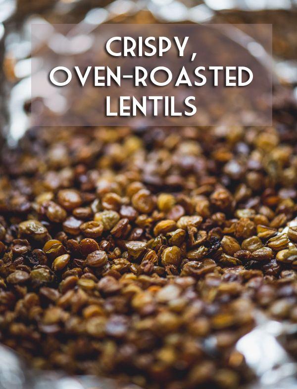 Crunchy Garlic Lentil Snack