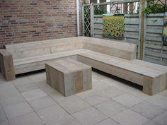 tuinbank steigerhout maken - Google-Suche