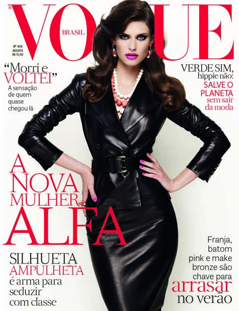 Bianca Balti for Vogue Brazil August 2012 Cover