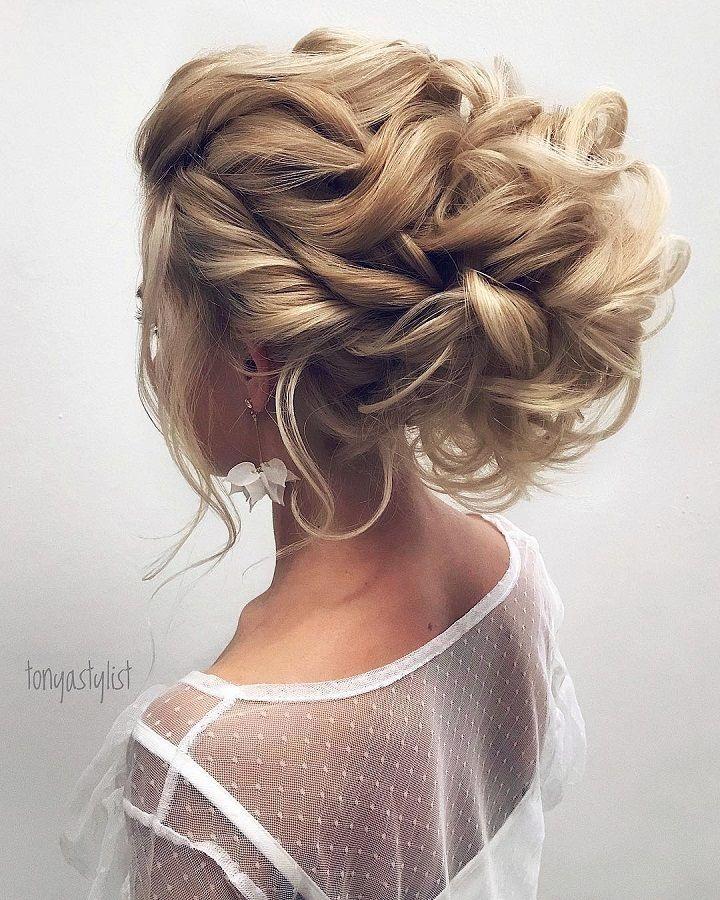 Gorgeous Messy Updo Wedding Hairstylesbridal Hairstyle Ideas