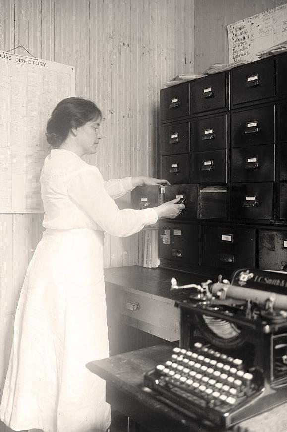 Secretary upskirt filing